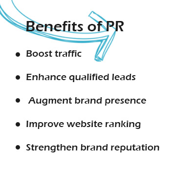 Public relations benefits