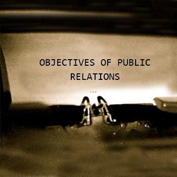 Objectives of PR